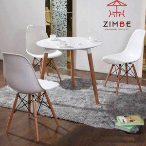 Bộ bàn ghế cafe nhựa cao cấp BGN002