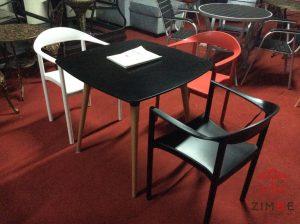 Bộ bàn ghế cafe nhựa cao cấp BGN003