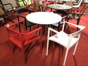Bộ bàn ghế nhựa cafe cao cấp BGN005
