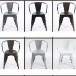 Các mẫu ghế sắt Tolix với 5 màu tuyệt đẹp